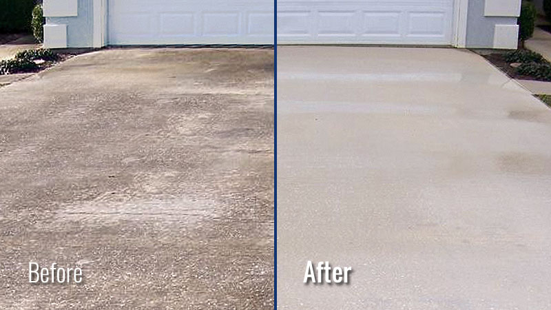 Driveway Pressure Washing in Louisville KY