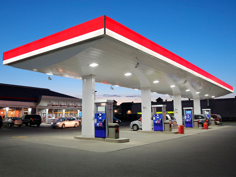 Gas Station Pressure Washing in Louisville KY