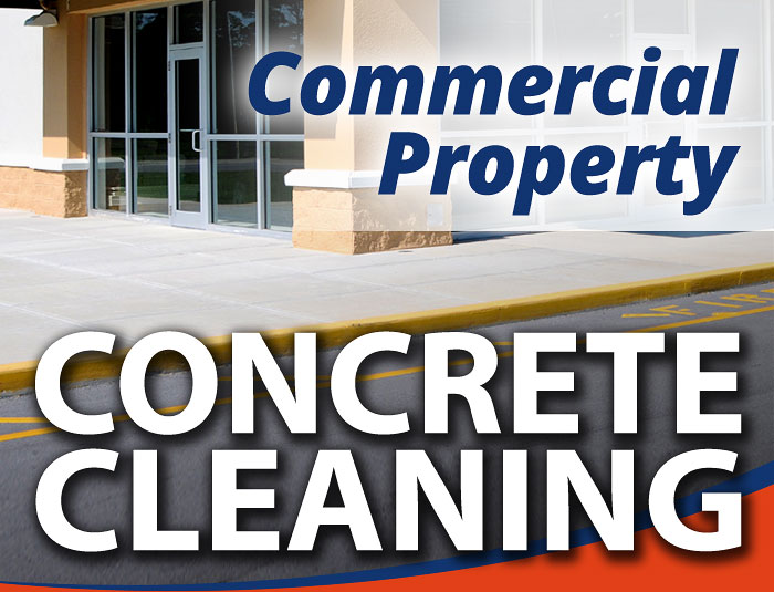 Commercial Concrete Power Washing in Louisville KY